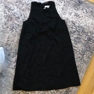 NWT Loft embroidered A-line dress size 2
